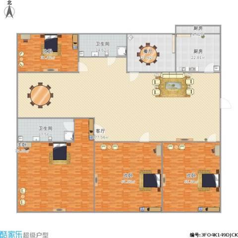 三箭吉祥苑4室2厅2卫2厨637.00㎡户型图