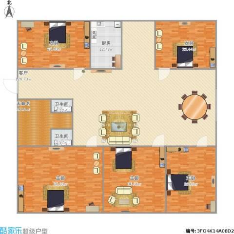 三箭吉祥苑5室1厅2卫1厨432.00㎡户型图