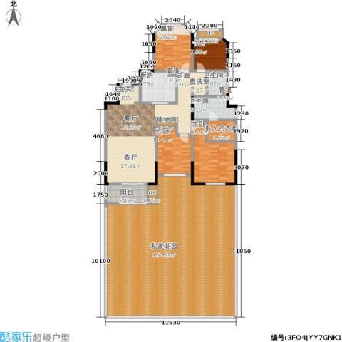 金地湖城艺境4室0厅2卫1厨247.12㎡户型图