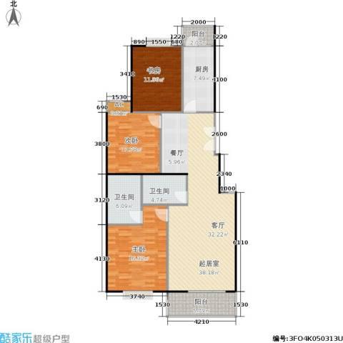 世涛天朗一期3室0厅2卫1厨120.00㎡户型图