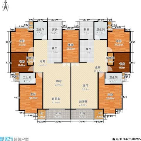 世涛天朗一期6室0厅4卫2厨231.47㎡户型图