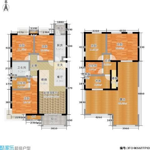 天恒乐活城D56室0厅3卫1厨195.58㎡户型图