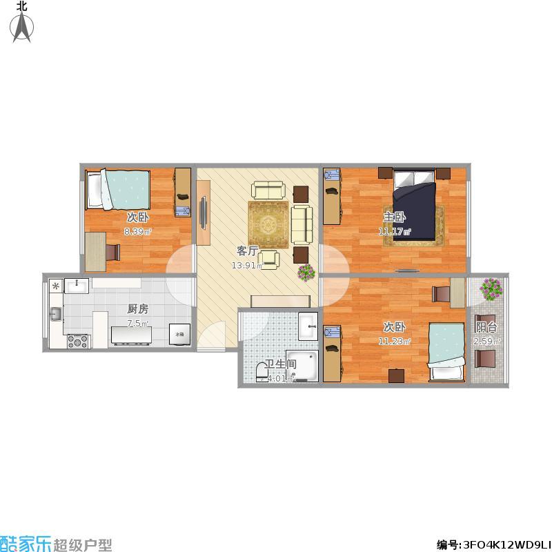 东塑小区三室