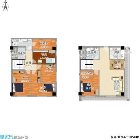 新发地5室1厅3卫1厨231.00㎡户型图