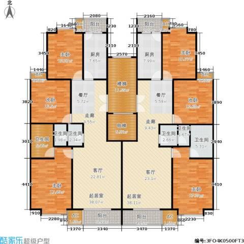 世涛天朗一期6室0厅6卫2厨230.29㎡户型图