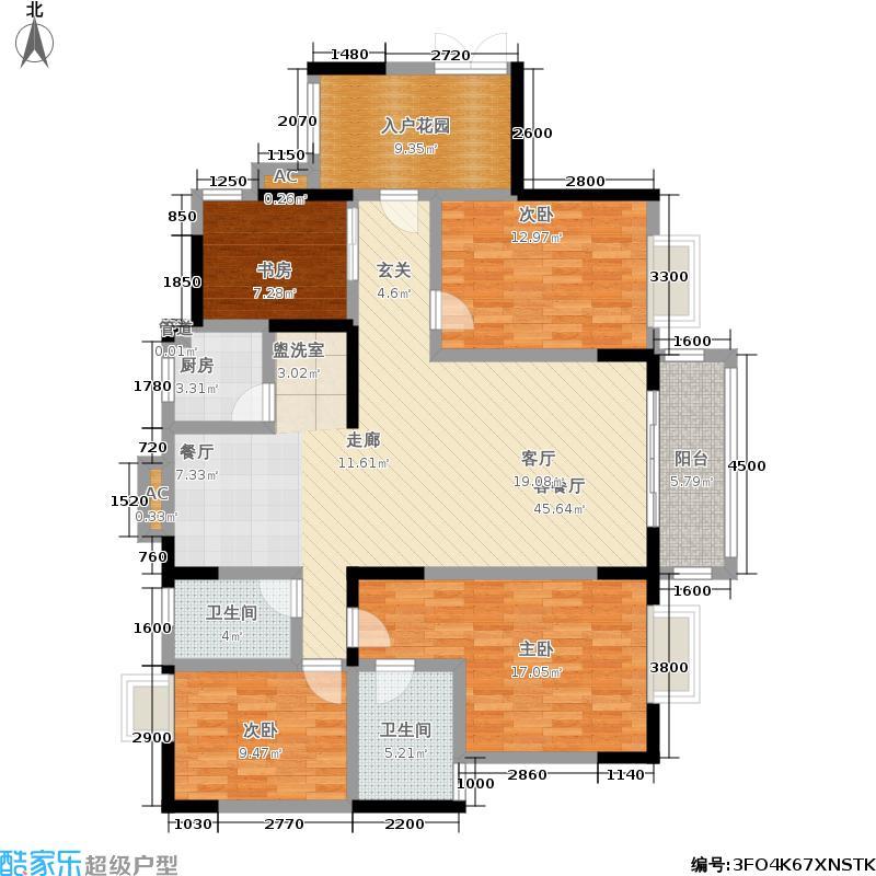 财富国际广场财富国际广场户型图(12/30张)户型10室