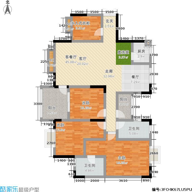 财富国际广场财富国际广场户型图(27/30张)户型10室