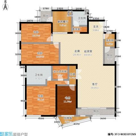 傲城融富中心4室0厅2卫0厨251.00㎡户型图