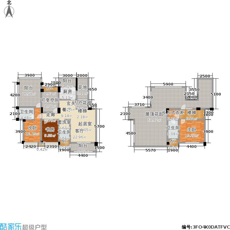 都江逸家135.00㎡3、5、8、9号楼D5跃层户型
