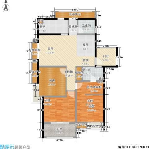 凤凰和美3室0厅2卫1厨142.00㎡户型图