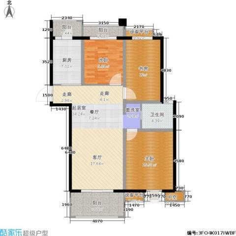 凤凰和美3室0厅1卫1厨118.00㎡户型图