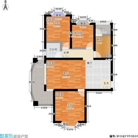 金城丽景1卫1厨106.00㎡户型图