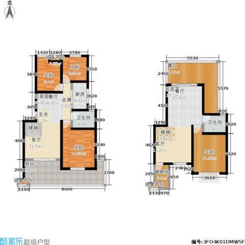 幸福美地4室0厅2卫1厨146.59㎡户型图
