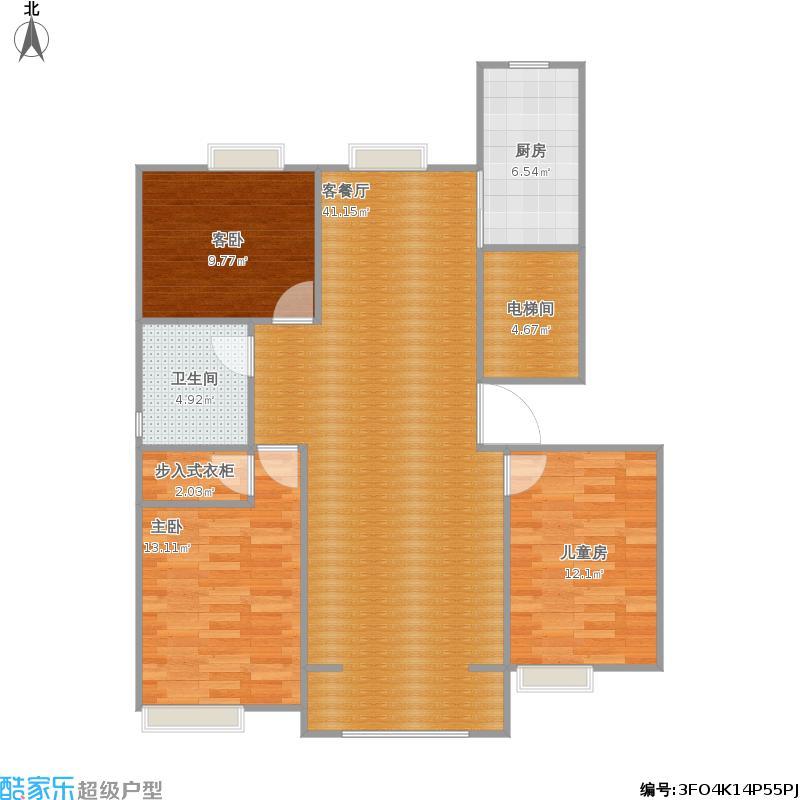 130三室两厅