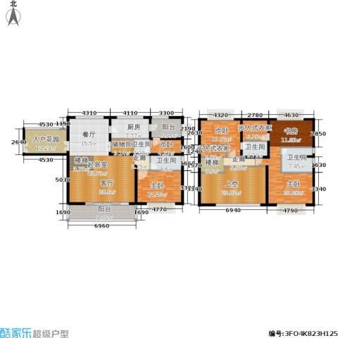 金色家园4室0厅4卫1厨235.00㎡户型图