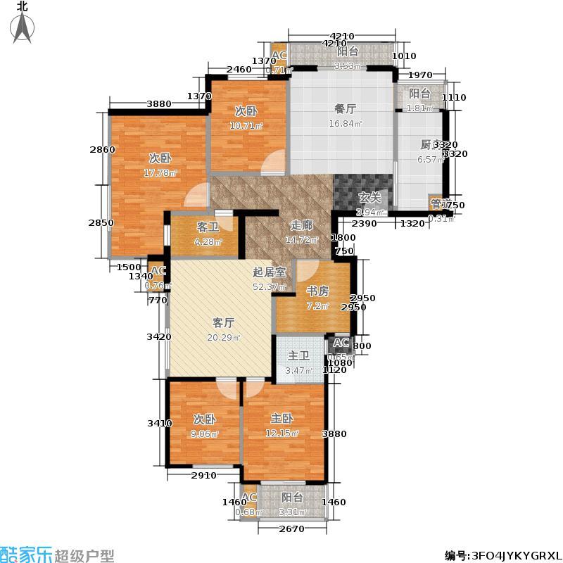 华鼎丽都国际150.00㎡9号楼住宅户型