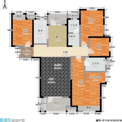 金地格林东郡4室0厅2卫1厨151.00㎡户型图