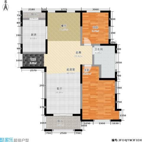 中茵星墅湾2室0厅1卫1厨108.00㎡户型图