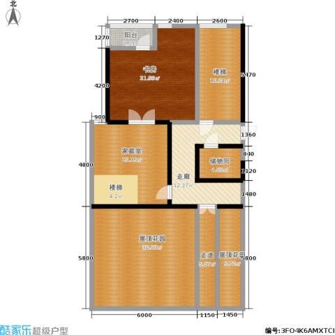 山水文园西园1室0厅0卫0厨167.00㎡户型图