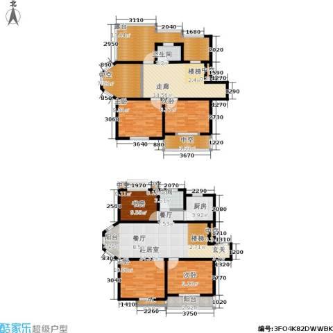 银河湾5室0厅2卫1厨136.00㎡户型图