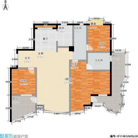 世嘉星海二期3室0厅1卫0厨187.00㎡户型图
