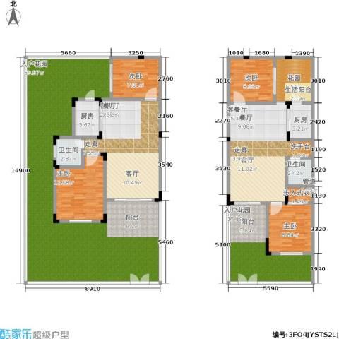 汇祥云深处4室2厅2卫2厨193.61㎡户型图