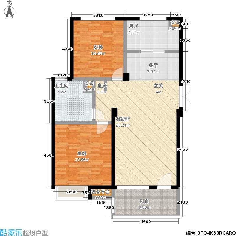 亲亲家园亲亲家园户型图三房-117㎡(8/25张)户型10室