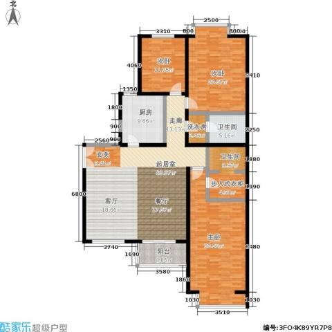 碧水星阁3室0厅2卫1厨168.00㎡户型图
