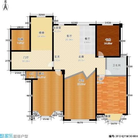 华府壹区2室0厅1卫0厨200.00㎡户型图
