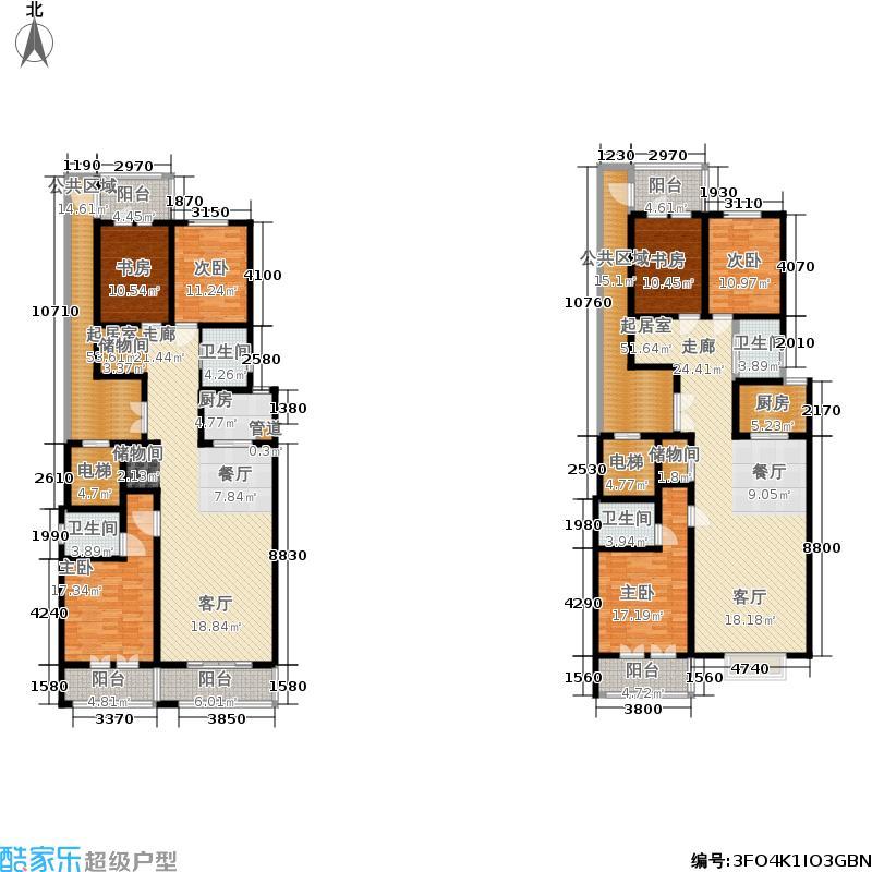 帝王国际142.92㎡3#楼D、D&apos户型3室2厅