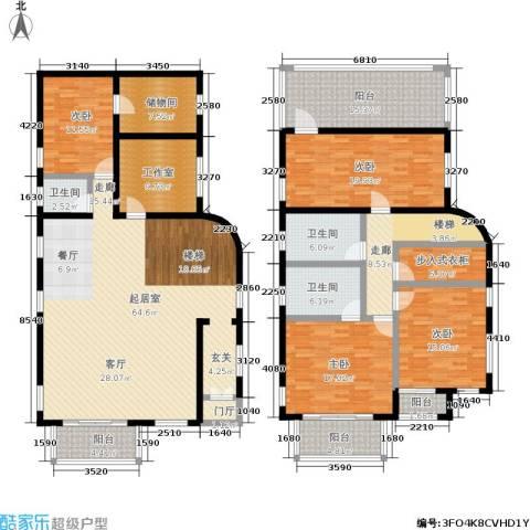 雅典娜庄园4室0厅3卫0厨201.20㎡户型图
