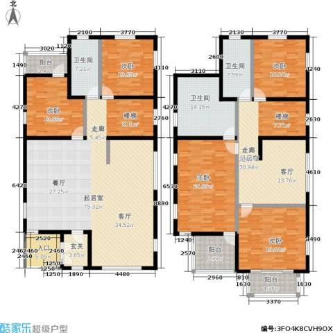 雅典娜庄园5室0厅3卫0厨275.00㎡户型图