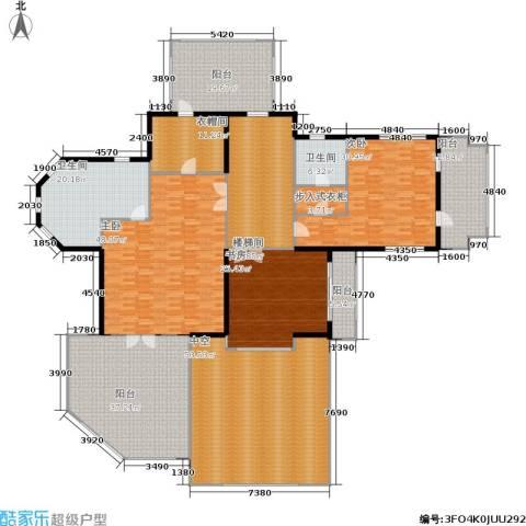 紫都上海晶园3室0厅2卫0厨320.00㎡户型图