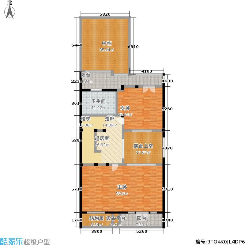明泉璞院226.90㎡A型北入口二层户型