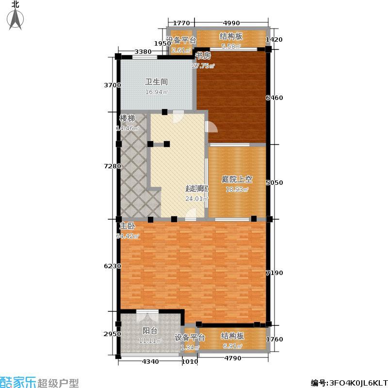 明泉璞院193.65㎡C型北入口三层户型