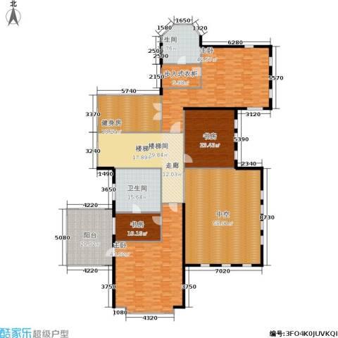 紫都上海晶园4室0厅2卫0厨300.00㎡户型图