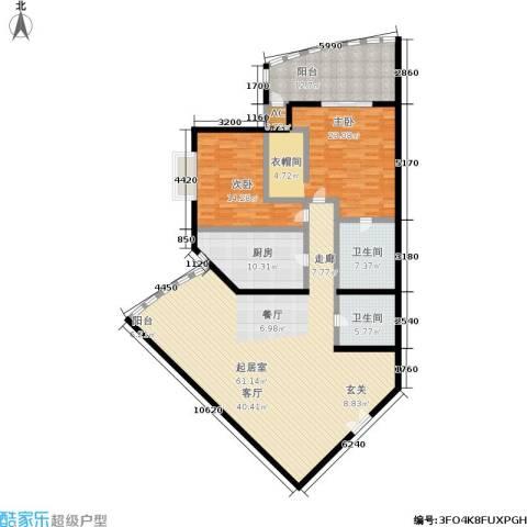 中国第一商城2室0厅2卫1厨153.00㎡户型图