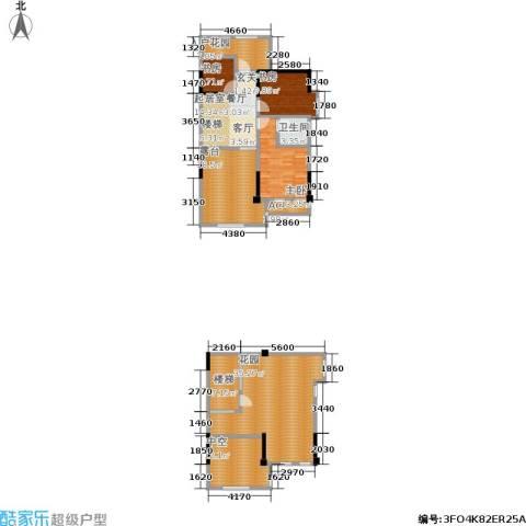 厦门禹洲高尔夫3室0厅1卫0厨180.00㎡户型图