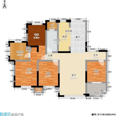 宝华铂翠豪庭3室0厅2卫0厨129.00㎡户型图