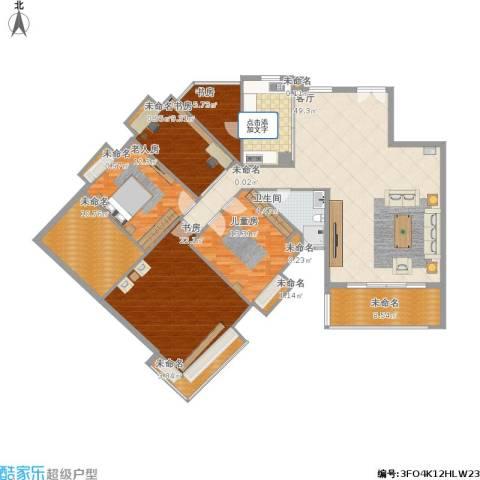 东骏豪苑四期5室1厅1卫1厨208.00㎡户型图