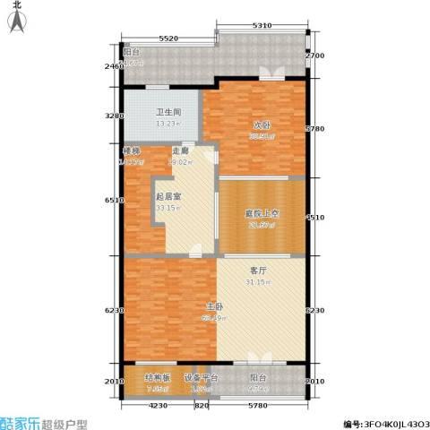 明泉璞院2室0厅1卫0厨227.00㎡户型图