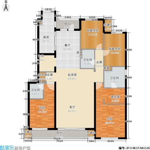 万科蓝山2室0厅3卫1厨179.09㎡户型图