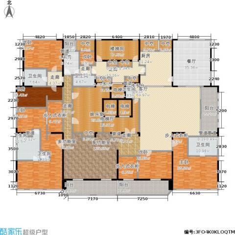 黄浦滩名苑6室1厅6卫2厨633.00㎡户型图