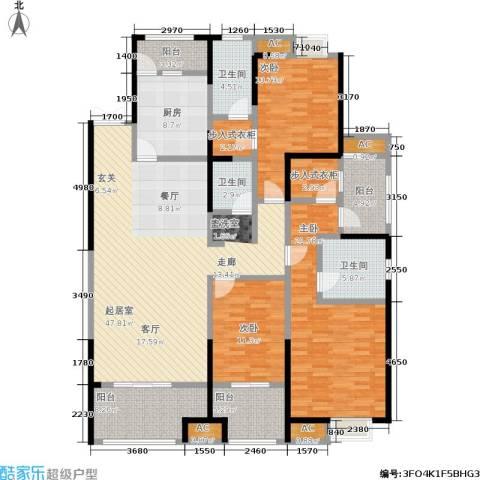 中大未来城3室0厅3卫1厨168.00㎡户型图