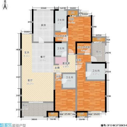 中大未来城3室0厅4卫1厨170.00㎡户型图
