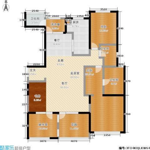公馆772室0厅3卫1厨175.00㎡户型图