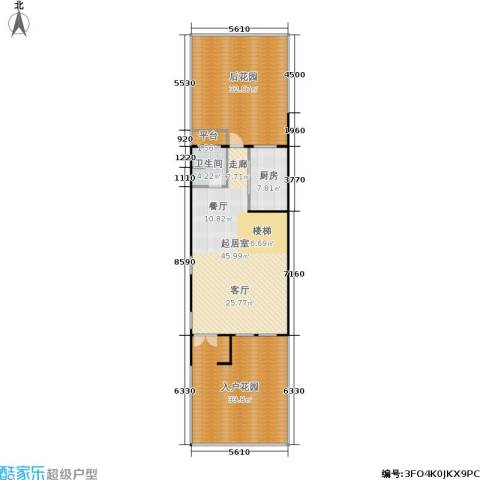 华纺易墅・上海湾1卫1厨133.00㎡户型图