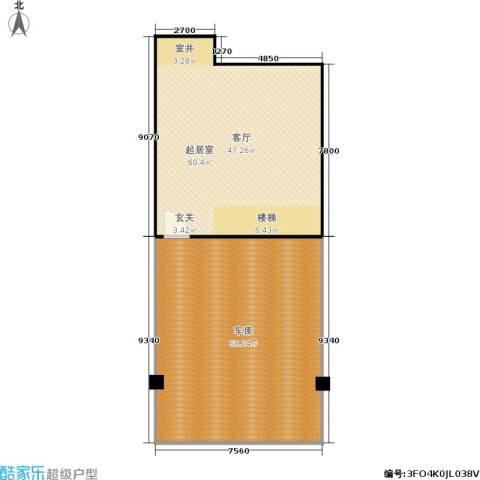 华纺易墅・上海湾133.00㎡户型图