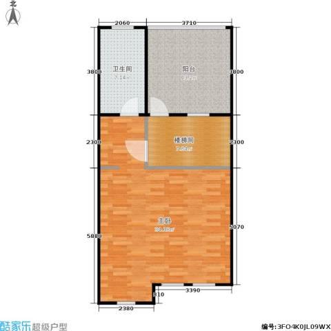 华纺易墅・上海湾1室0厅1卫0厨133.00㎡户型图