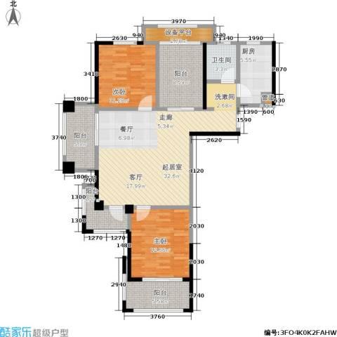 常发香城湾2室0厅1卫1厨105.00㎡户型图